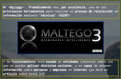Captura 1: Final – OSINT; Gathering information (herramientas & problemática) (parte. 2) – ;)
