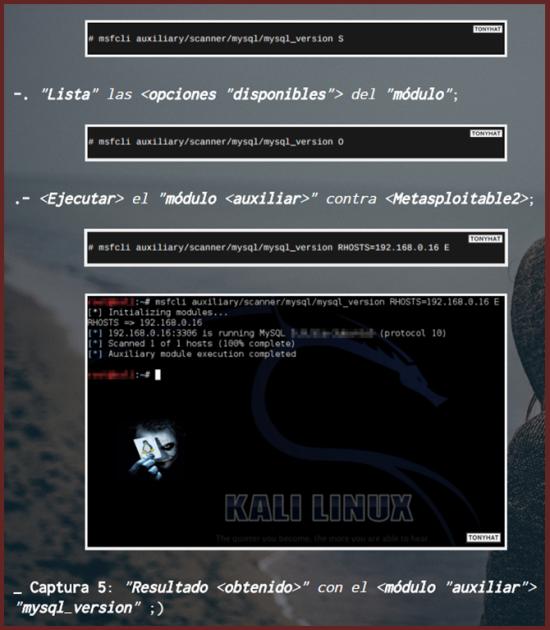 Captura 1: Final (artículo) :- Hacking'Kali: Penetration testing (metasploit 11) ;)