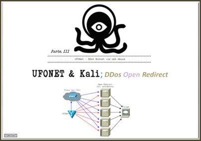 UFONET, Kali, 3 - BLOG - 001