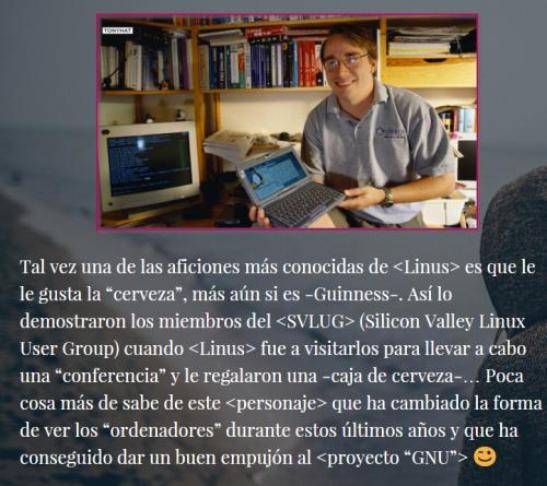 Linux'TECA, I, BLOG - 021
