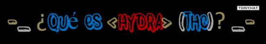 Hydra, BloG, 005