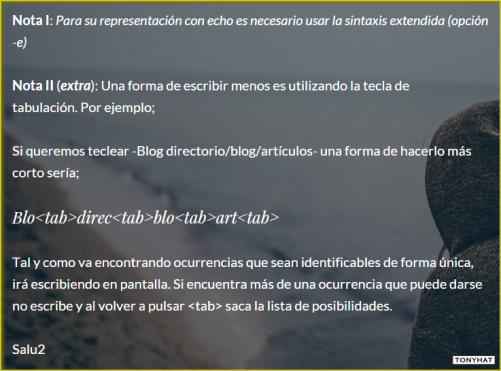 Linux'TECA, I, BLOG - 092