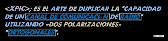 1, XPIC